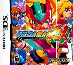 Mega Man ZX Cover Box