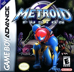 Metroid Fusion Cover Box