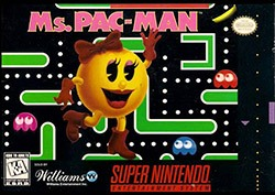 Ms. Pac-Man Cover Box