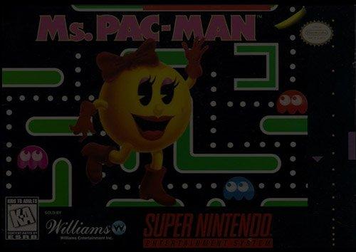 Ms. Pac-Man - Super Nintendo (SNES)