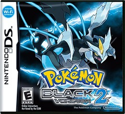 Pokemon Black Version 2 Cover Box