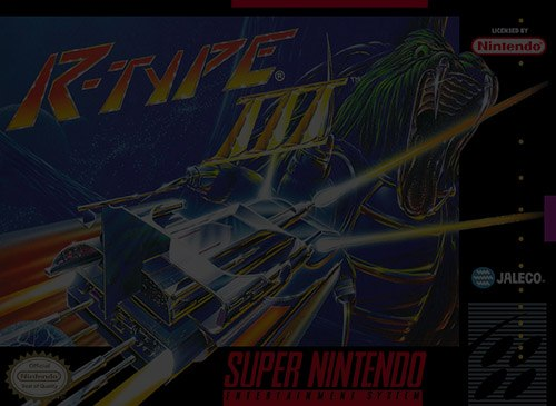 R-Type III: The Third Lightning - Super Nintendo (SNES)
