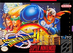 Sonic Blast Man II Cover Box