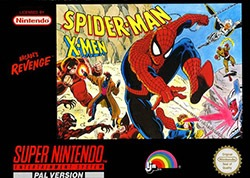 Spider-Man and the X-Men in Arcade's Revenge Cover Box