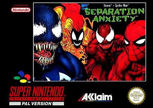 Play Spider Man Venom Separation Anxiety Online Free Snes Super Nintendo