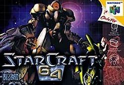StarCraft 64 Cover Box