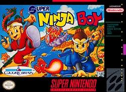 Super Ninja Boy Cover Box