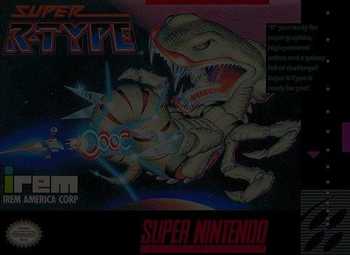 Super R-Type - Super Nintendo (SNES)