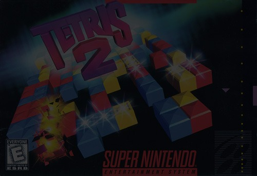 Tetris 2 - Super Nintendo (SNES)