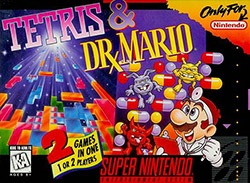 Tetris & Dr. Mario Cover Box