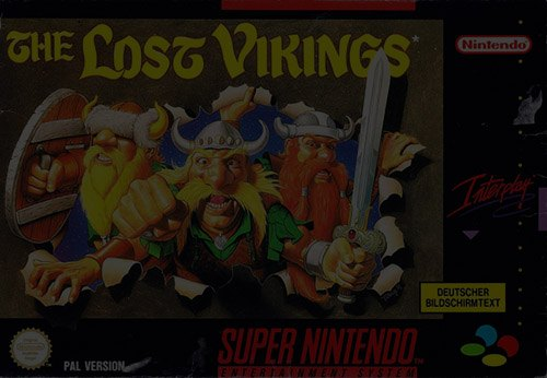 The Lost Vikings - Super Nintendo (SNES)