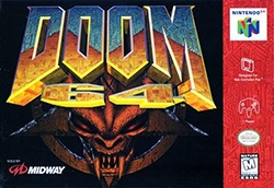 Doom 64 Cover Box