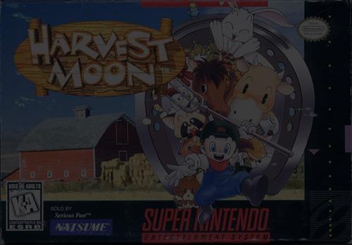Harvest Moon - Super Nintendo (SNES)