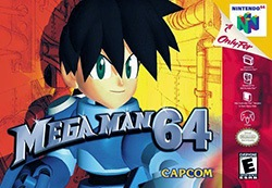 Mega Man 64 Cover Box