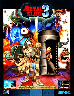 Metal Slug 3 Cover Box
