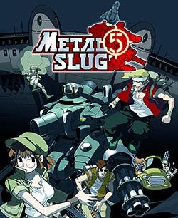 Metal Slug 5 Cover Box