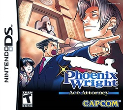 Phoenix Wright: Ace Attorney Cover Box