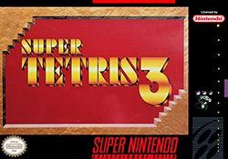 Super Tetris 3 Cover Box