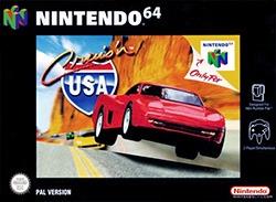 Cruis'n USA Cover Box