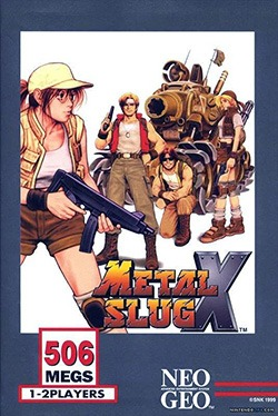 Metal Slug X Cover Box