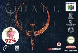 Quake 64 Cover Box