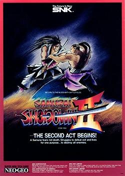 Samurai Shodown 2 Cover Box