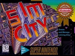 SimCity Cover Box