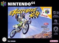 Excitebike 64 Cover Box