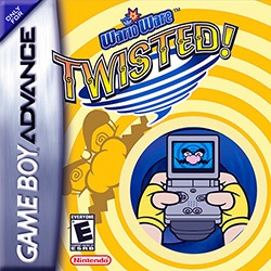 WarioWare: Twisted! Cover Box