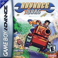 Advance Wars Cover Box