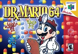 Dr. Mario 64 Cover Box