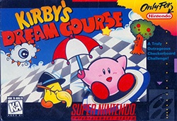 Kirby's Dream Course Cover Box