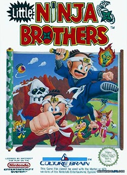 Little Ninja Brothers Cover Box