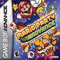 Mario Party Advance Cover Box