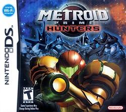 Metroid Prime: Hunters Cover Box