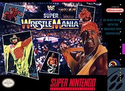 WWF Super WrestleMania Cover Box