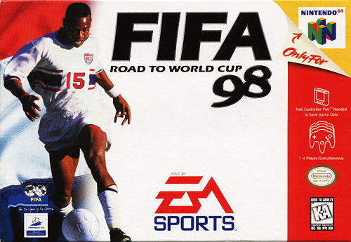 Play Fifa 98 Road To World Cup Online Free N64 Nintendo 64
